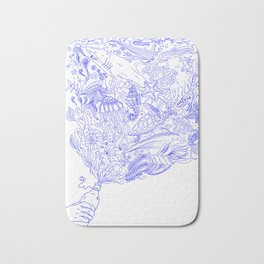 Bottle of Ocean Bath Mat