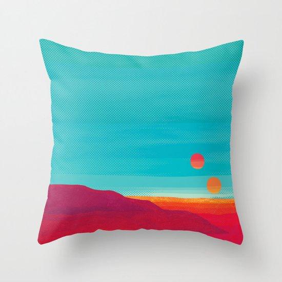 Far Away Throw Pillow