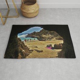 Eternity Beach - Cockroach cove - hawaii - oahu Rug