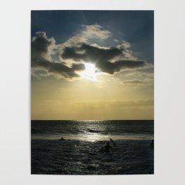 E ala mai o loko i ke kuhohonu o ke Aloha Kamaole Beach Poster