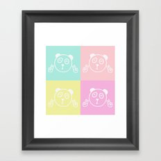 Pandas Framed Art Print