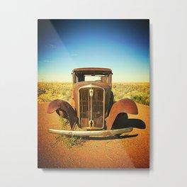 Rusty Route 66 Metal Print