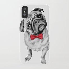 Percy Pug iPhone Case