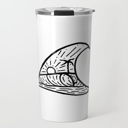 Wave in a Wave Travel Mug