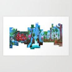 Future City Art Print