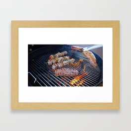 Barbeque Framed Art Print