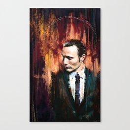 Dr. Hannibal Lecter Canvas Print