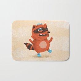 Rollerblade Raccoon Bath Mat