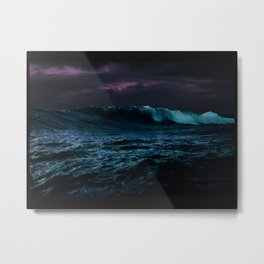 Midnight Waters Metal Print