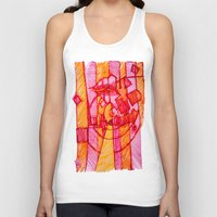 30 rock Tank Tops featuring 30 by Pedro Ossa