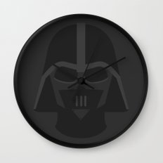 Star Wars Minimalism - Darth Vader Wall Clock