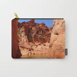 Antelope Canyon On Lake Powell Carry-All Pouch