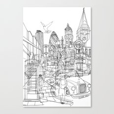 London! Canvas Print