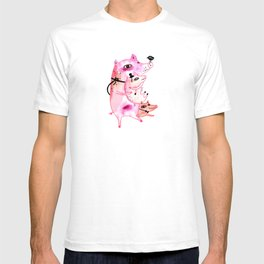 Three and Free Little Pigs T-shirt
