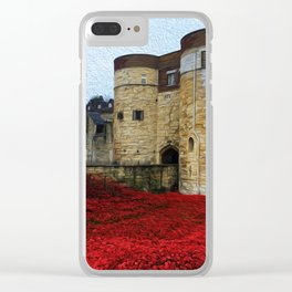 Blood Swept Lands 6 Clear iPhone Case