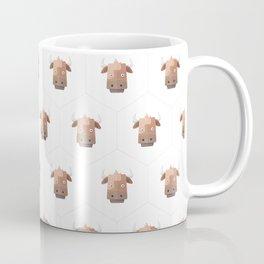 Hexagon's Cow design Coffee Mug