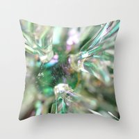 snowflake Throw Pillows featuring snowflake by Lalina ChristmasShop