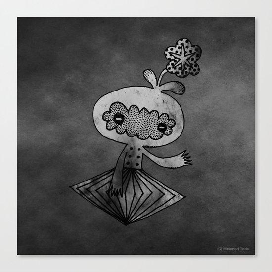 spaceman (Analog Fetish Monsters) Canvas Print