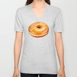 Donut Pattern - Glazed Unisex V-Neck