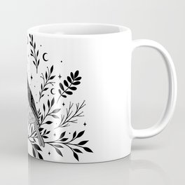 A Bird with Seven Moons Coffee Mug