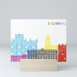 Salamanca skyline pop Mini Art Print
