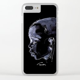Africa Clear iPhone Case