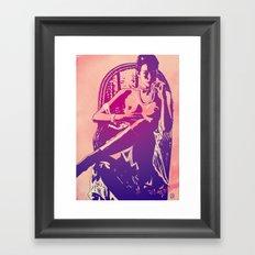 emmanuelle Framed Art Print