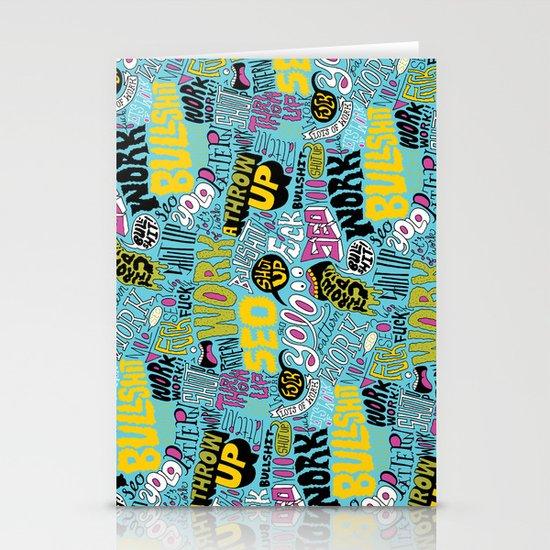 SEO Pattern Stationery Cards