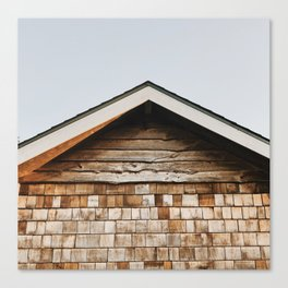 Shingles & Points Canvas Print