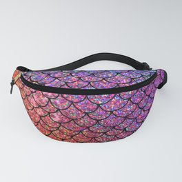 Colorful Glitter Mermaid Scales I Fanny Pack