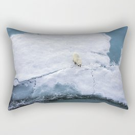 Polar Bear Rectangular Pillow