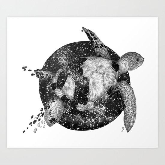 Cosmic Turtle by ecmazur