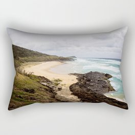 Fraser Island- Coastline Rectangular Pillow