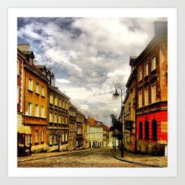 Welcome to Warsaw Art Print