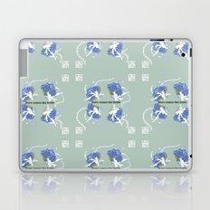 Here Comes the Bride, blue hydrangeas bouquets Laptop & iPad Skin