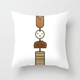 El Anticucho Throw Pillow