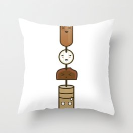 El Anticucho Throw Pillow