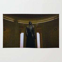 Thomas Jefferson @ his Memorial in Washington DC Rug