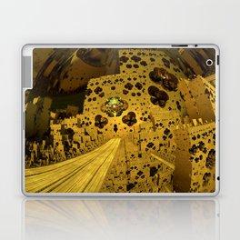 City of Golden Dust Laptop & iPad Skin