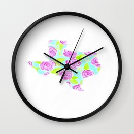 Lilly Pulitzer Texas State of Mind Wall Clock