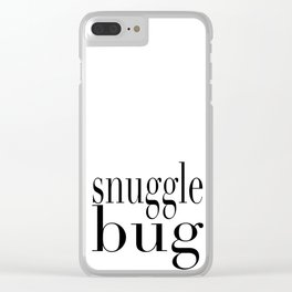 Snug as a Bug in a Rug Clear iPhone Case