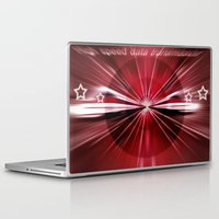 data Laptop & iPad Skins featuring High - speed -  data - transmission. by capricorn