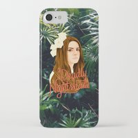 ultraviolence iPhone & iPod Cases featuring Lana Deadly Nightshade by Balans