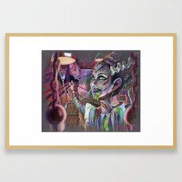 Bride of the Exorcist Framed Art Print