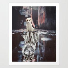 Teen Wolf by GEN Z Art Print