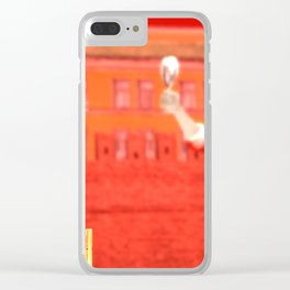 SquaRed: No country for musicman Clear iPhone Case