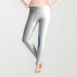 Azure seashell Leggings