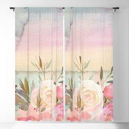 Flower Bouquet 131 Blackout Curtain