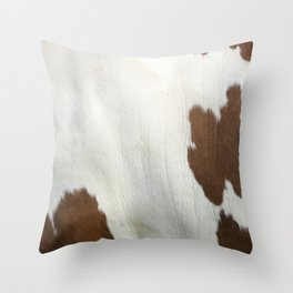 Cowhide v2 Throw Pillow