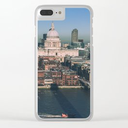 St Paul's London Clear iPhone Case
